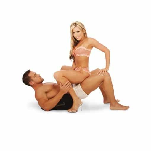 couple using Fetish Fantasy Series Inflatable Position Master 2