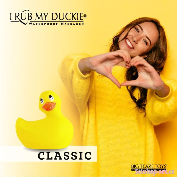 I Rub My Duckie 2.0 Classic Massager banner banner