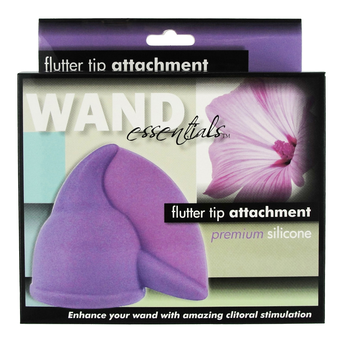 Flutter Tip Silicone Wand Attachment – Boxed