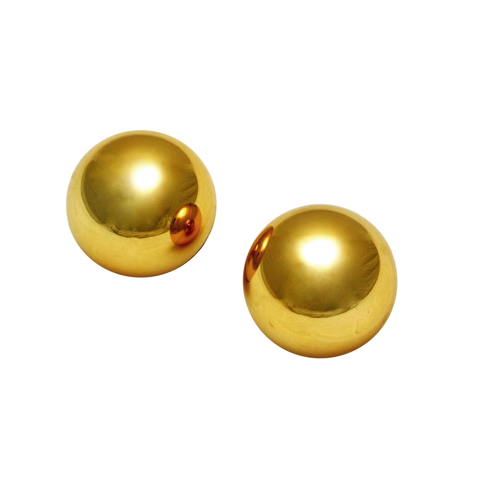 Sirs 1 Inch Golden Benwa Balls