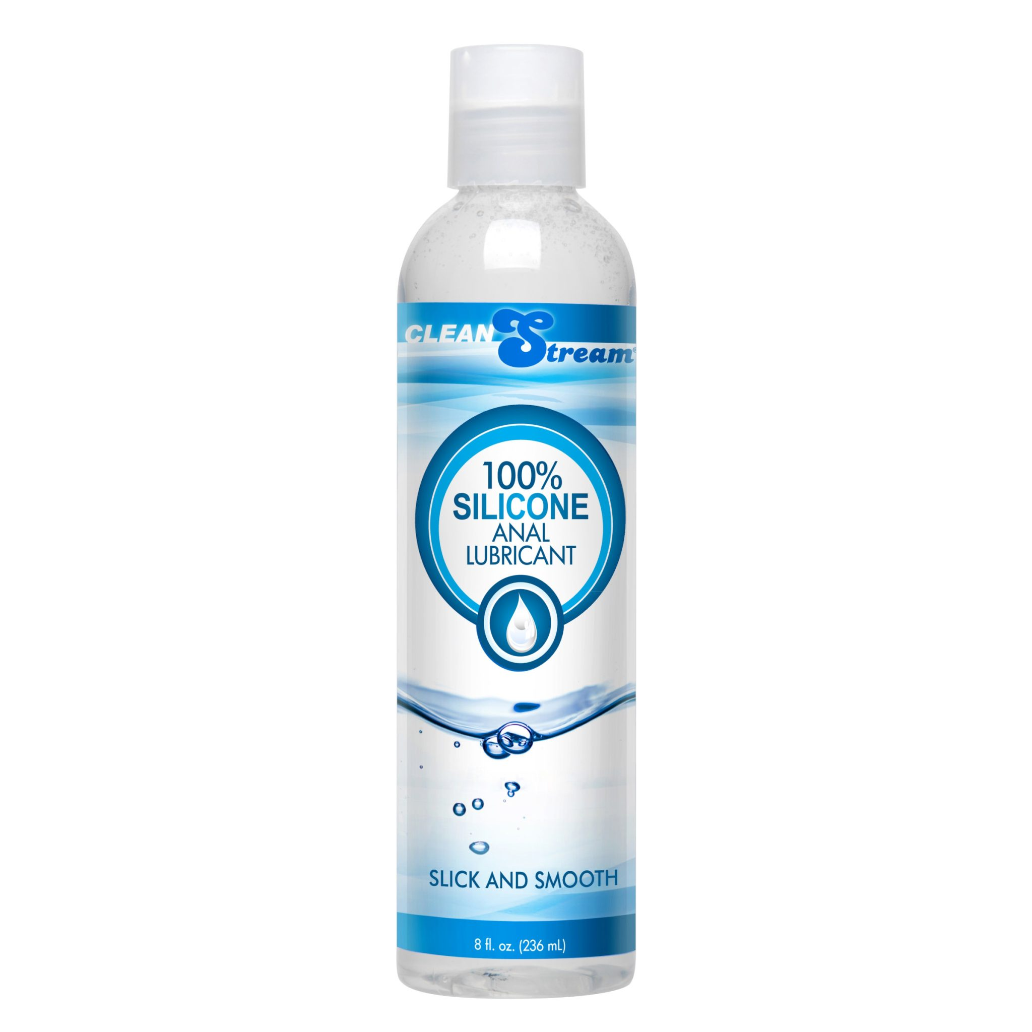 CleanStream 100 Percent Silicone Anal Lubricant – 8 oz