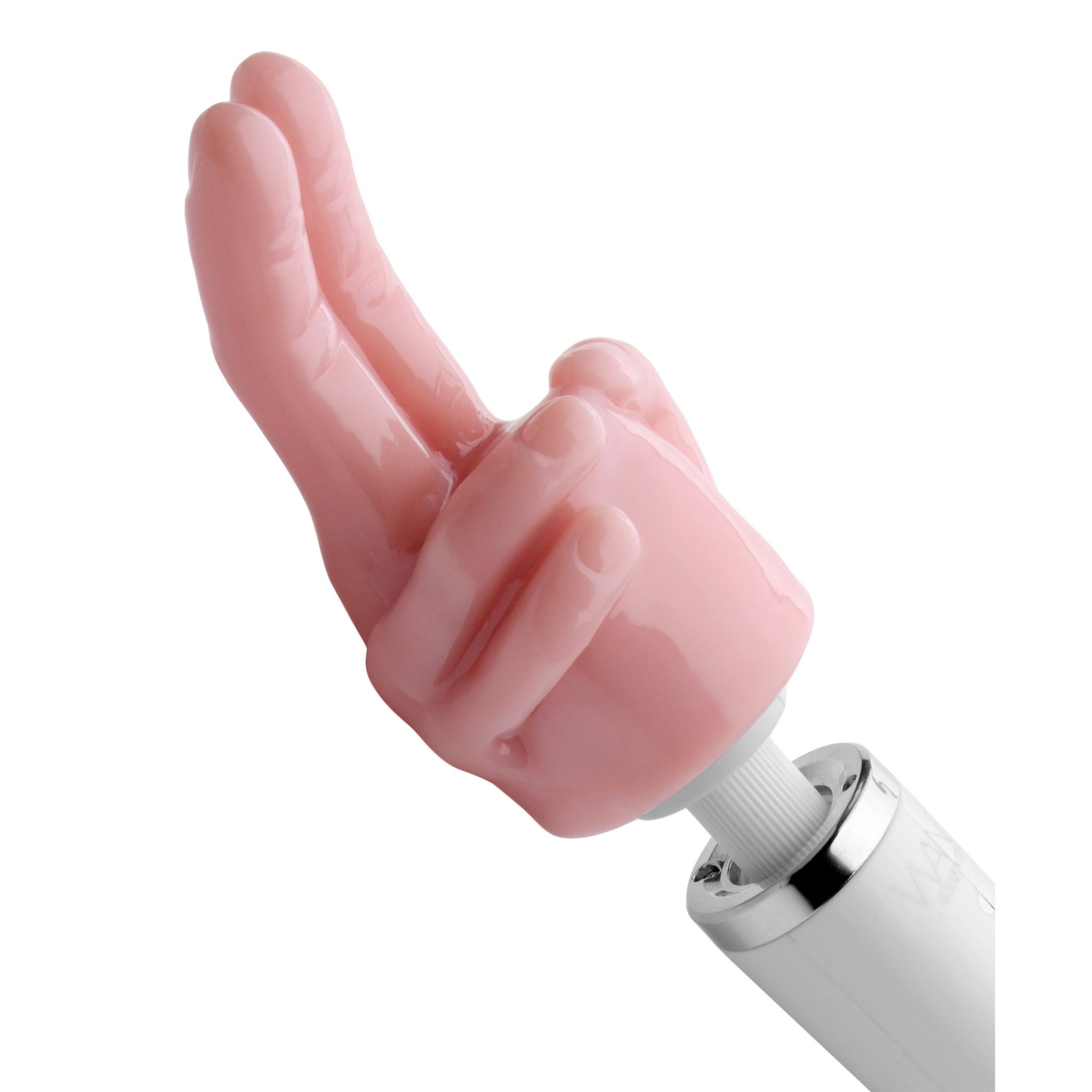Pleasure Pointer Two Finger Wand Attachment