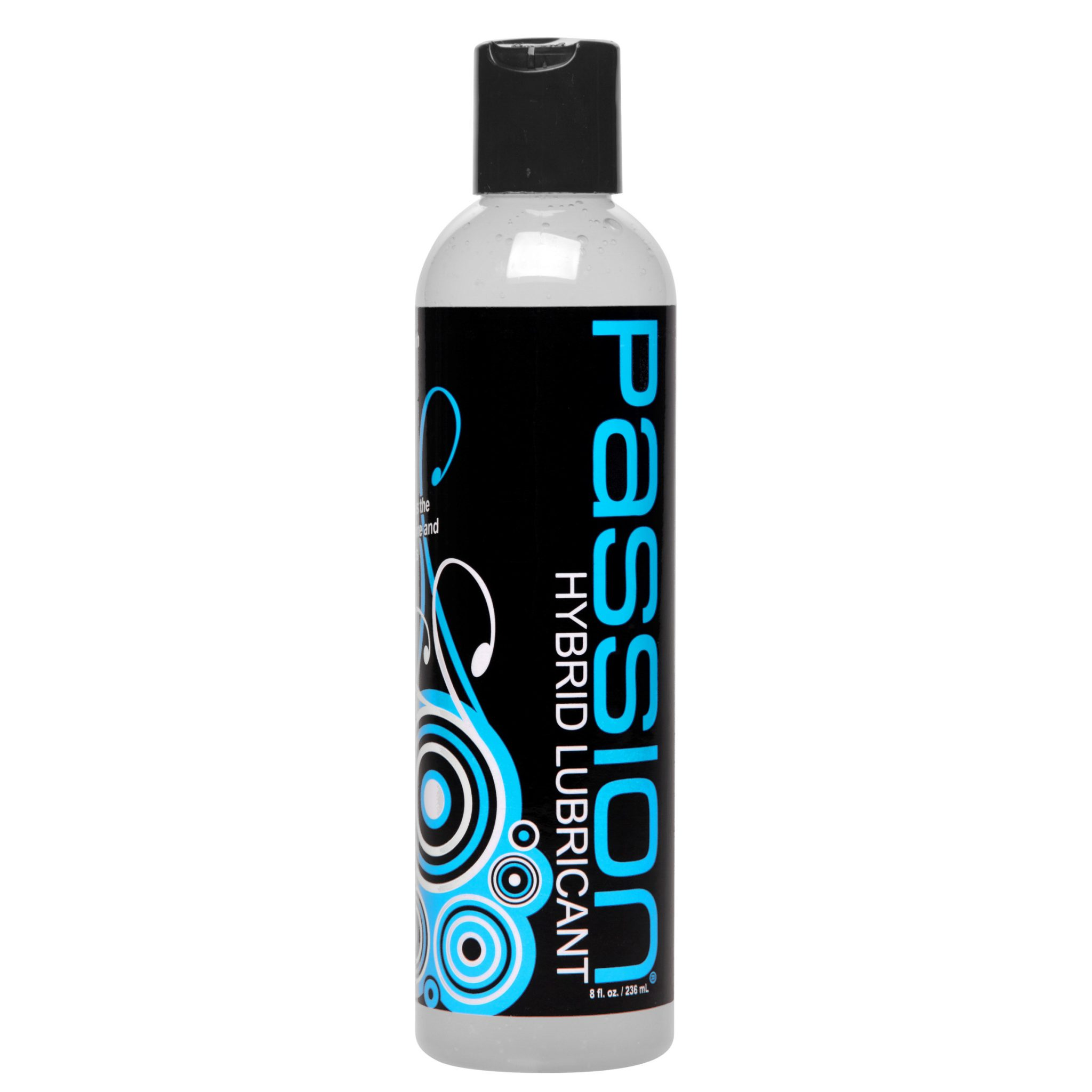 Passion Hybrid Water and Silicone Blend Lubricant- 8 oz