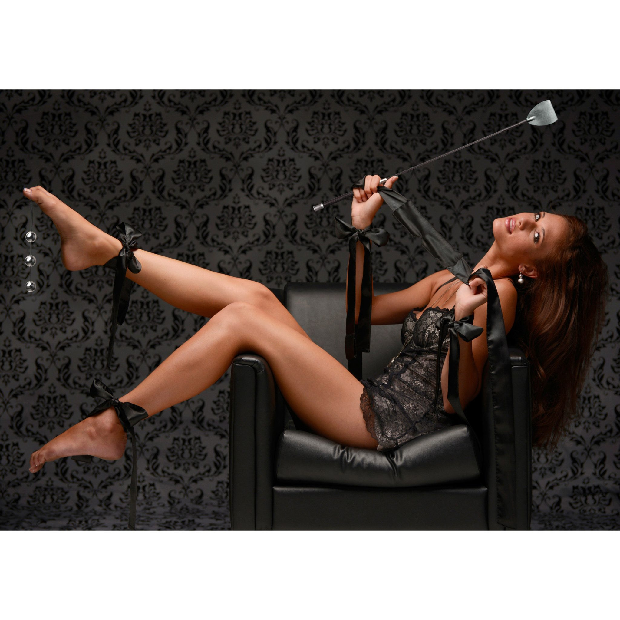 GreyGasms 7 Piece Erotic Bondage Play Kit