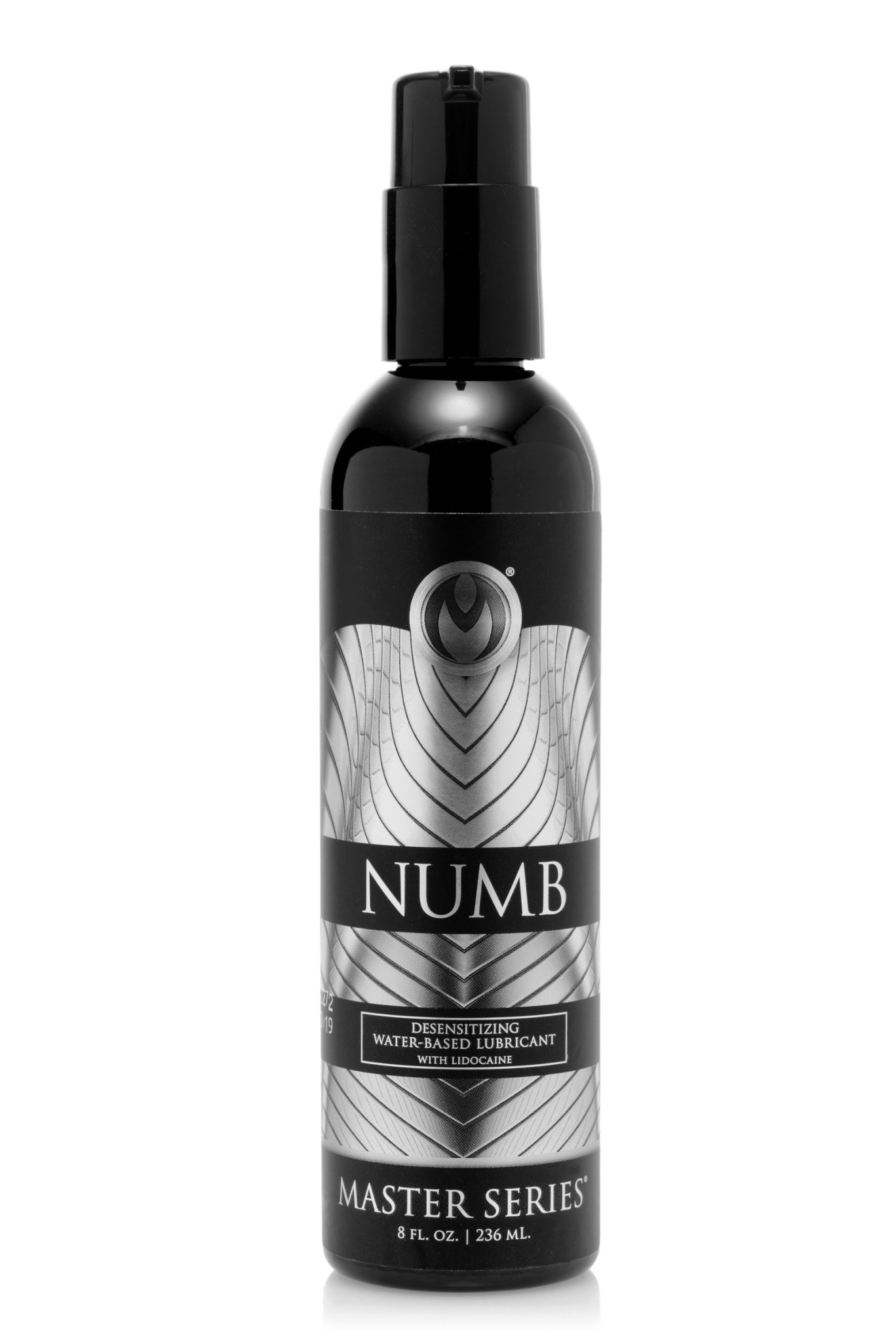 Numb Desensitizing Water Based Lubricant with Lidocaine – 8 oz