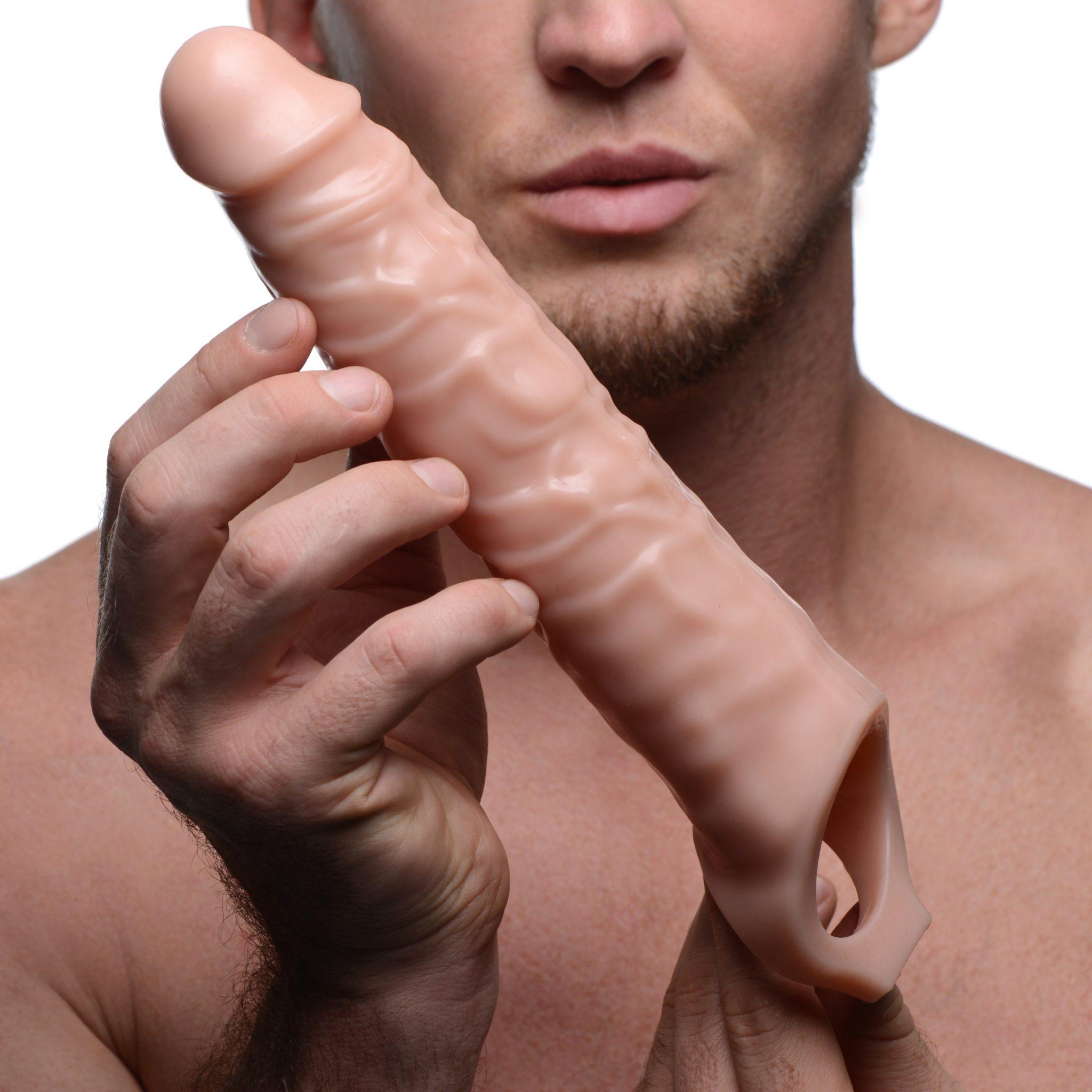 Size Matters 3 Inch Flesh Penis Extender Sleeve