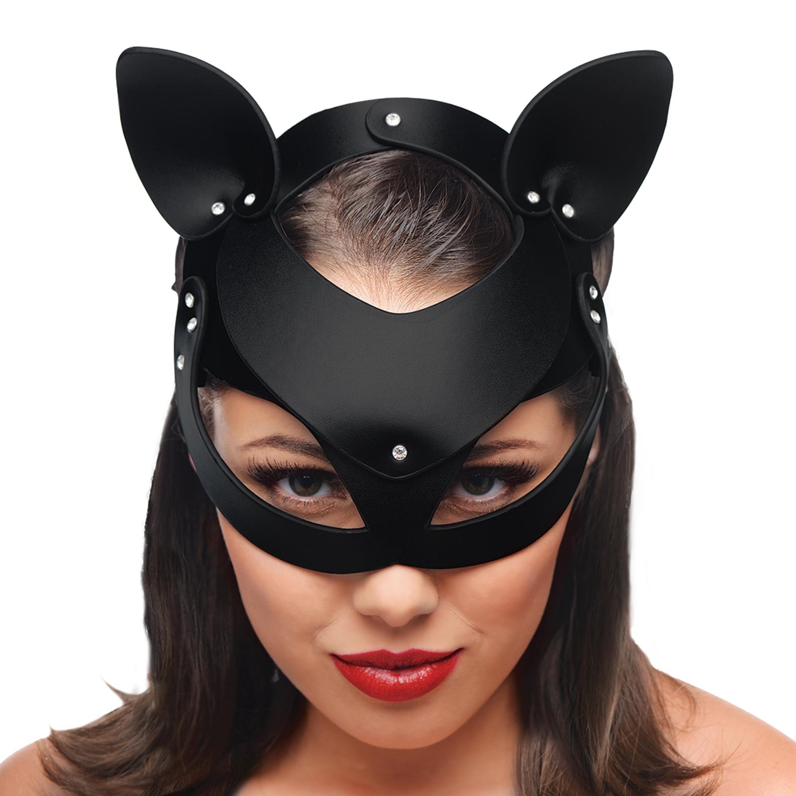 Cat Tail Anal Plug and Mask Set