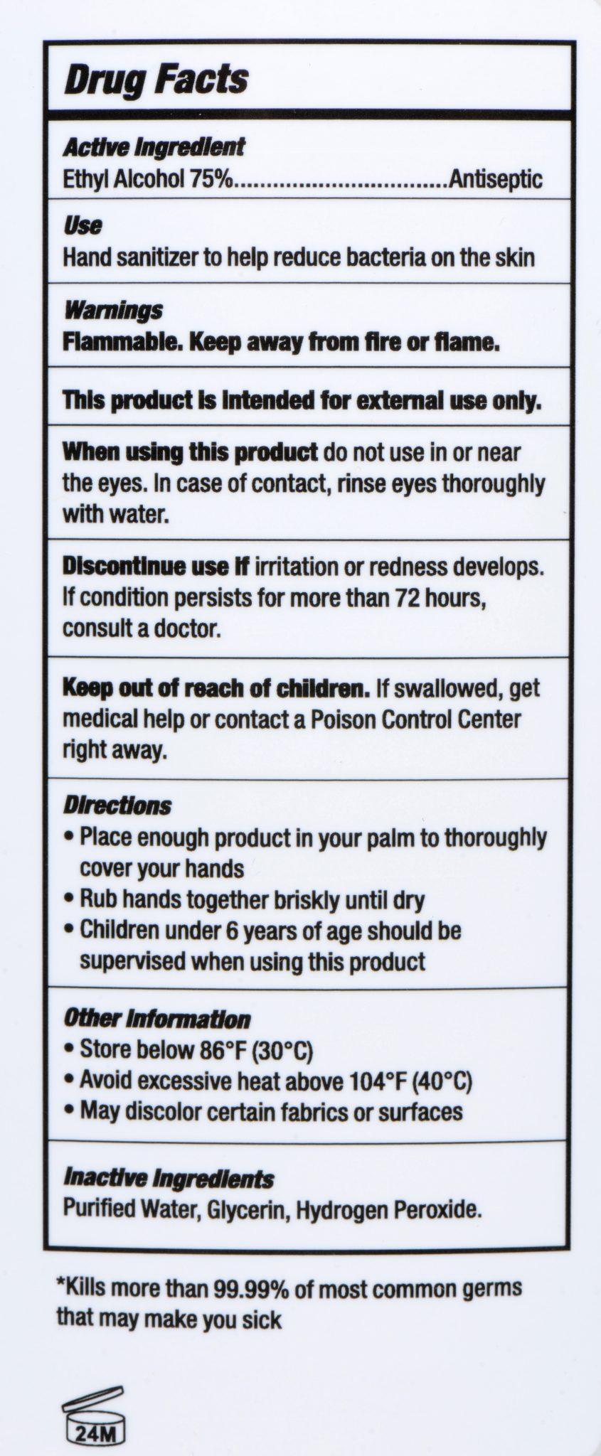 Advanced Hand Sanitizer – Gallon