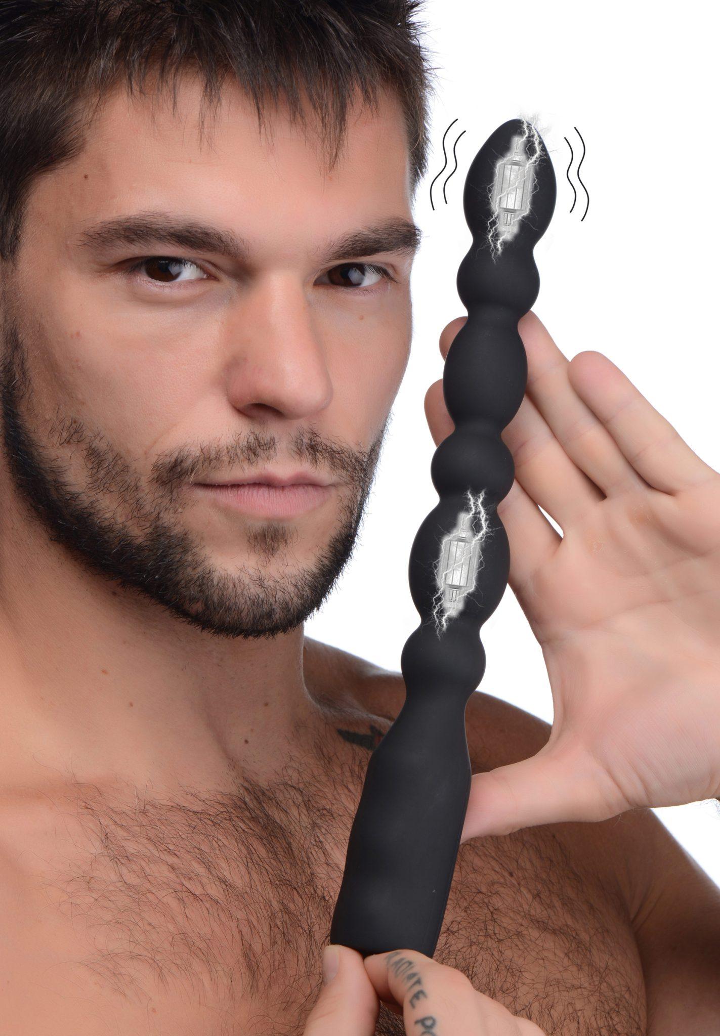 Viper Anal Beads Silicone Dual Motor Vibrator