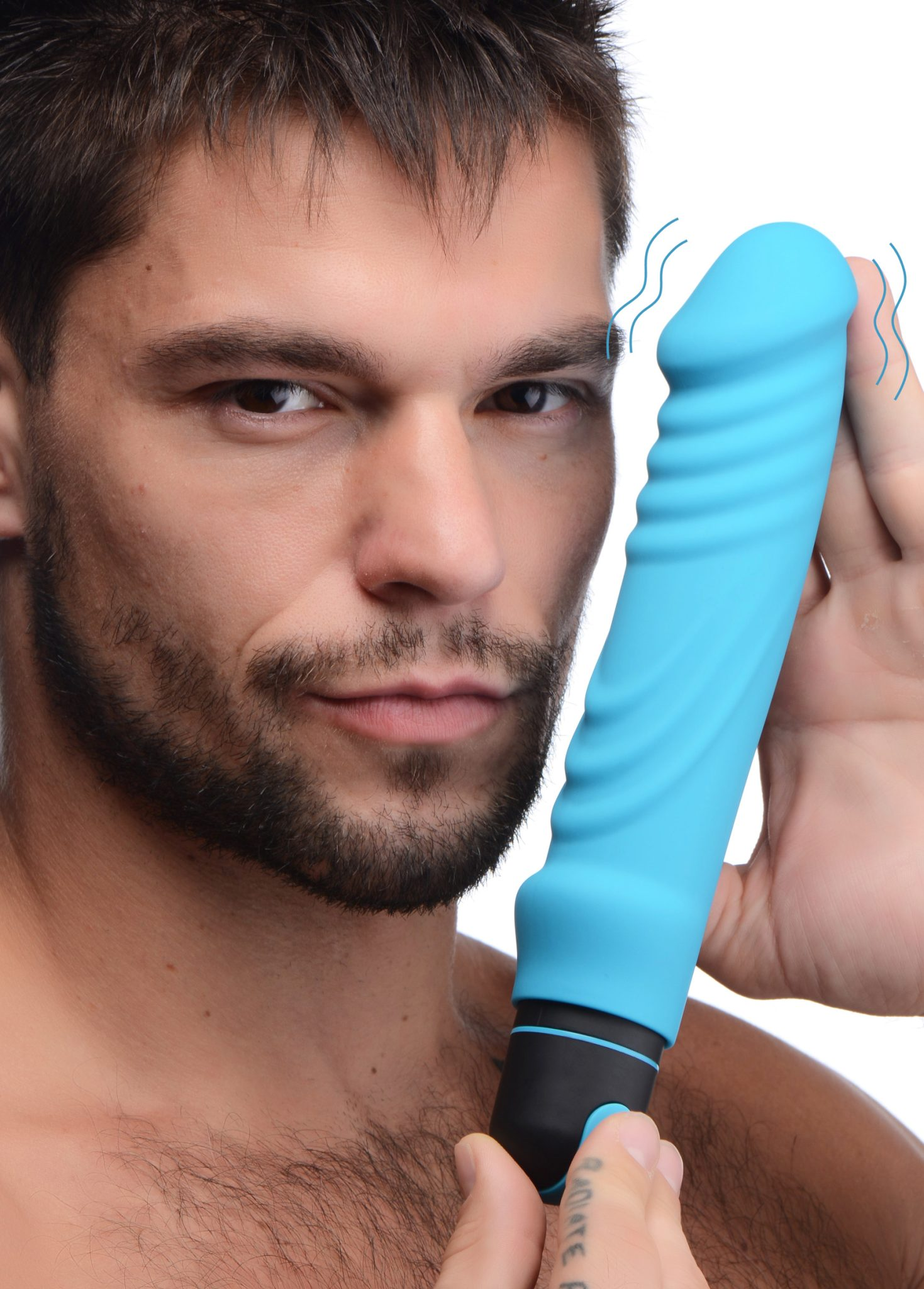 XL Silicone Bullet and Ribbed Sleeve
