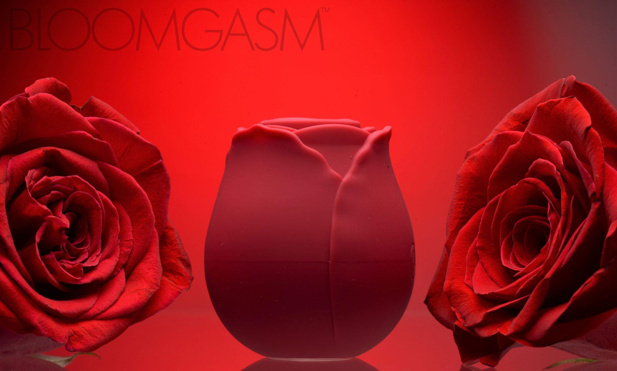 Bloomgasm Wild Rose 10X Silicone Clit Stimulator