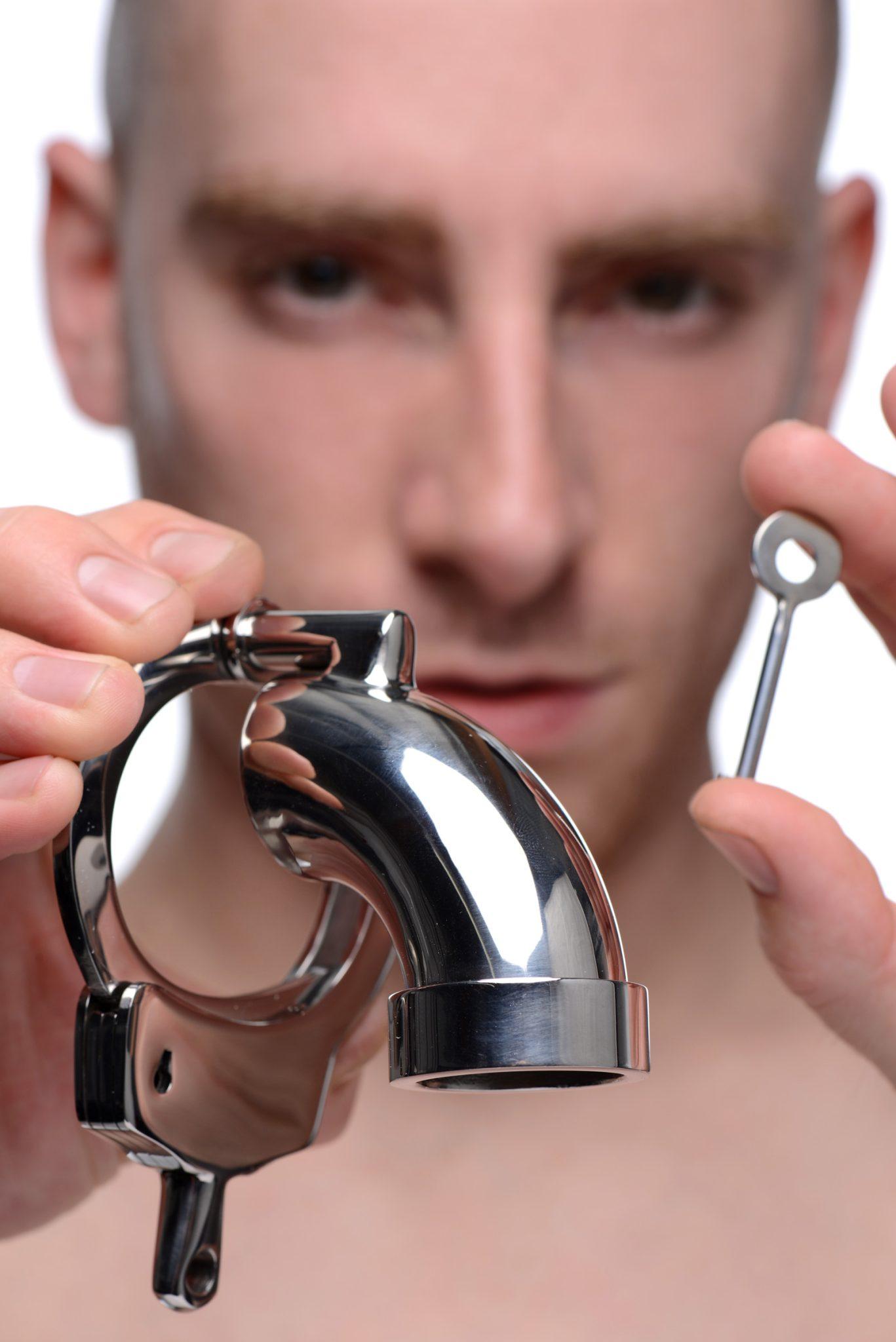 The CockCuff Chastity Device