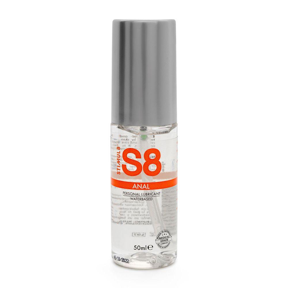 S8 Water Based Anal Lube 50ml