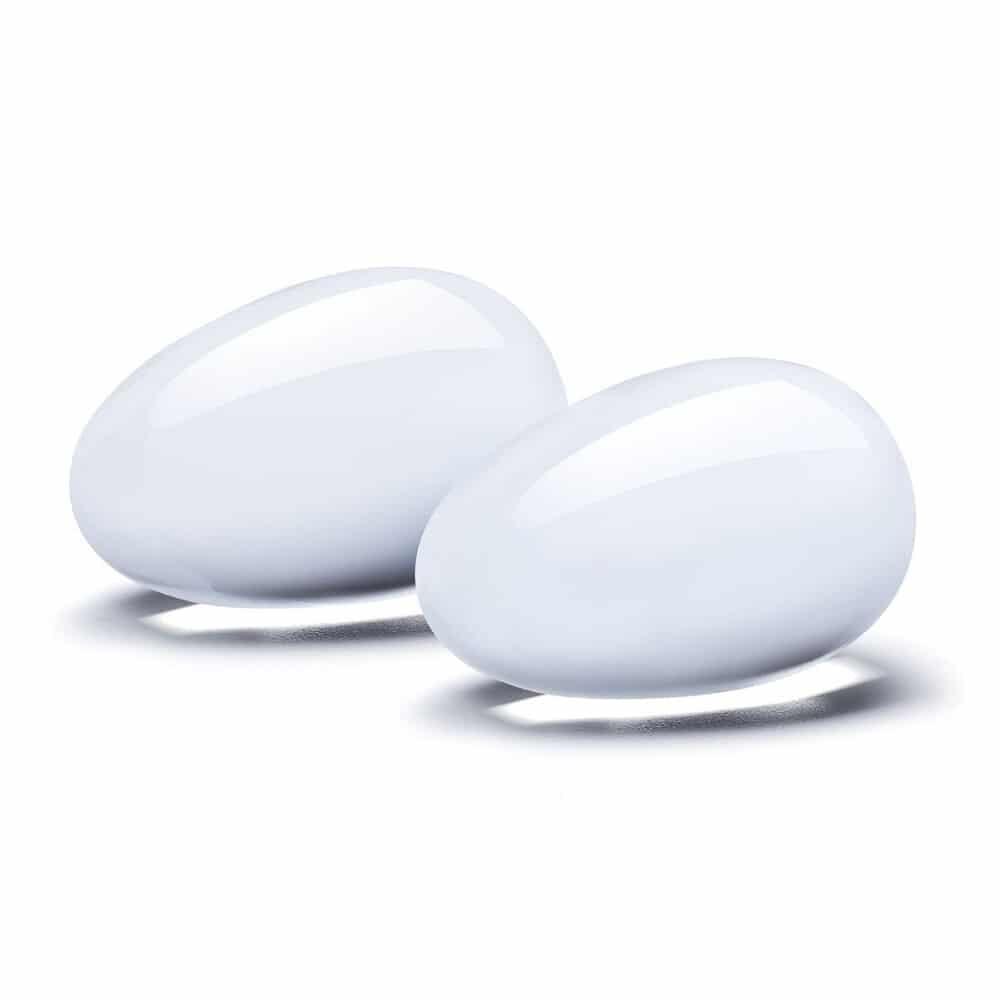 Glass Yoni Eggs 2 Piece Set