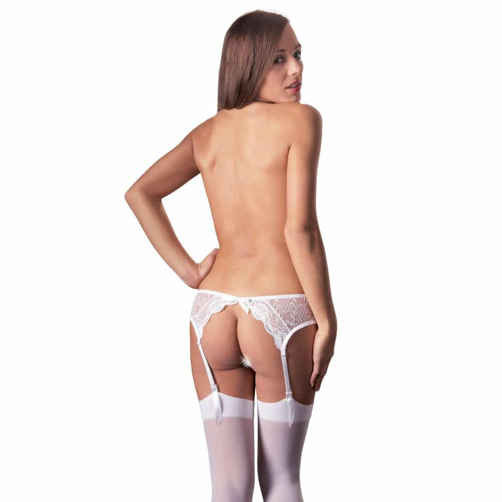 Suspender Set White
