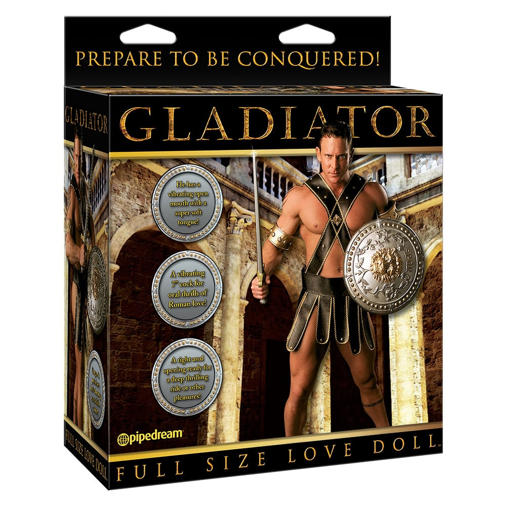 Pipedream Gladiator Full Size Love Doll