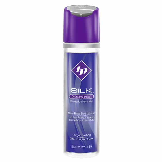 ID Silk Natural Feel Water Based Lubricant 8.5floz/250mls