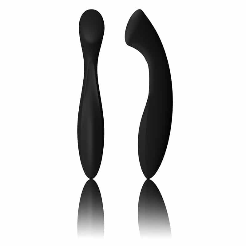 Lelo Ella Black Luxury Silicone G-Spot Dildo